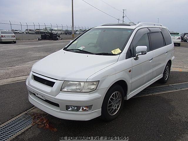 used 1999 mitsubishi chariot grandis exceed gf n84w for sale bf61965 rh beforward jp Mitsubishi Grandis 2005 2004 Mitsubishi SUV Minivan