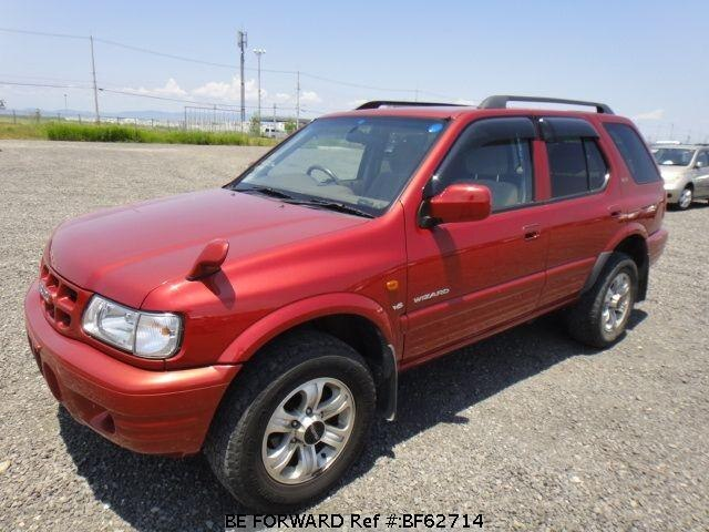 Used 2001 ISUZU WIZARD LS/TA-UES25FW for Sale BF62714 - BE