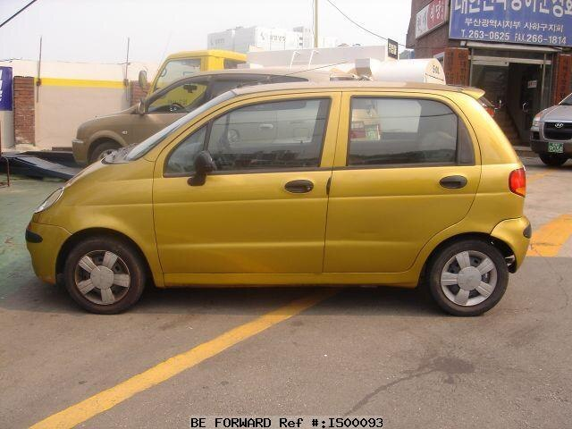 Used 1998 DAEWOO MATIZ/4A11BR for Sale IS00093 - BE FORWARD