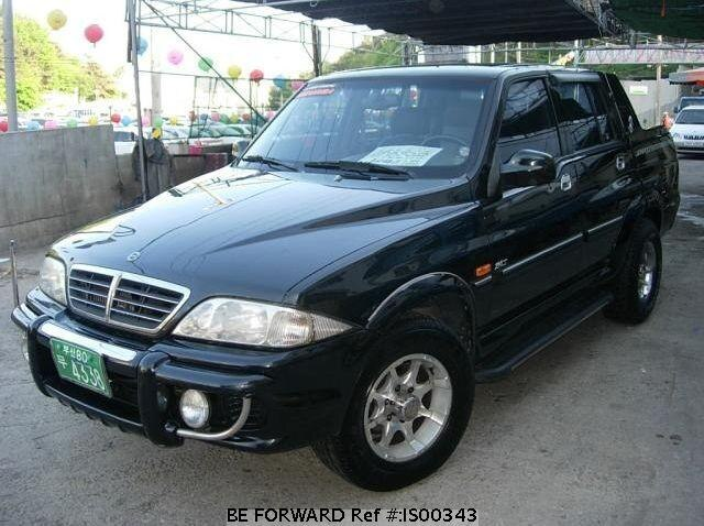 Used 2003 SSANGYONG MUSSO IS00343 for Sale