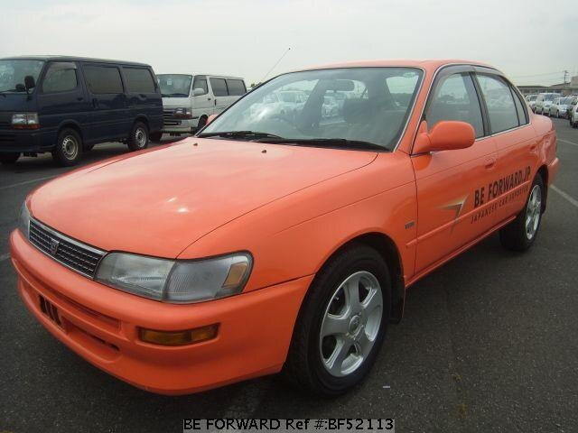 Used Toyota Corolla For Sale >> Used 1995 Toyota Corolla Sedan E Ae100 For Sale Bf52113 Be Forward