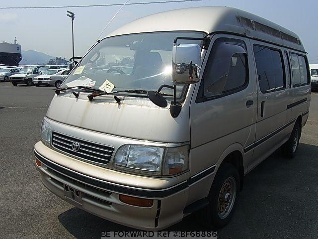 used 1996 toyota hiace wagon grand cabin kd kzh126g for sale rh beforward jp 1995 Toyota Hiace Toyota Hiace 1996 Oslo Norway