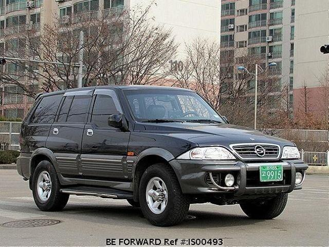 Used 2001 SSANGYONG MUSSO IS00493 for Sale