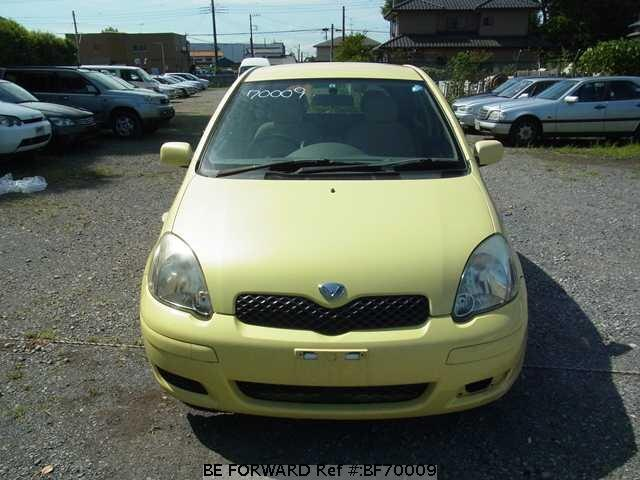 Used 2003 TOYOTA VITZ PAIR STYLEUASCP10 for Sale BF70009  BE