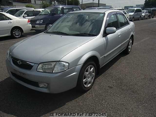 used 1999 mazda familia gf bj5p for sale bf72045 be forward rh beforward jp Mazda Familia Sport 20 Mazda 323 Familia 1994 White
