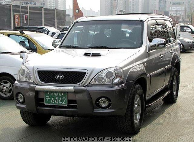used 2002 hyundai terracan for sale is00612 be forward. Black Bedroom Furniture Sets. Home Design Ideas