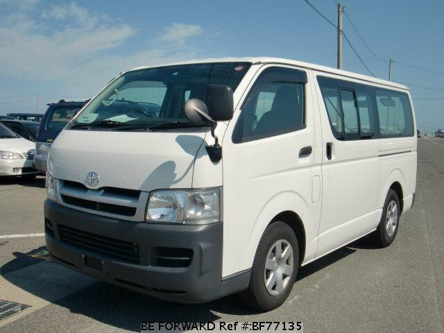 5dbdd6fd13 Used 2007 TOYOTA HIACE VAN LONG DX KR-KDH200V for Sale BF77135 - BE ...