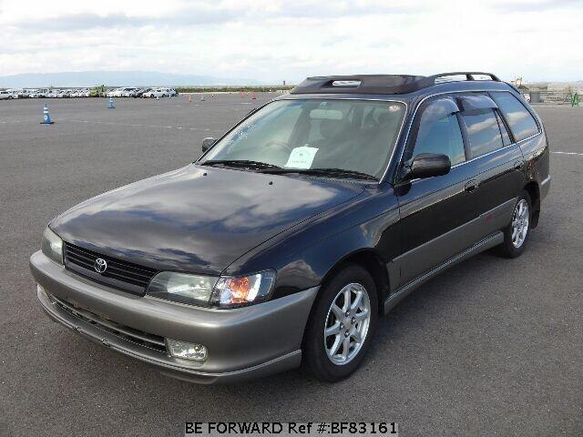 used 1999 toyota corolla touring wagon bz touring gf ae101g for sale bf83161 be forward. Black Bedroom Furniture Sets. Home Design Ideas