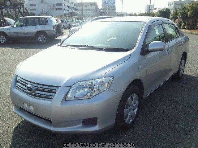 Used 2007 TOYOTA COROLLA AXIO BF96860 for Sale