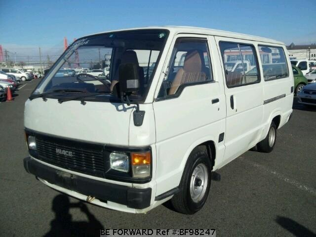 Used 1989 Toyota Hiace Van D Dx N Lh61v For Sale Bf98247