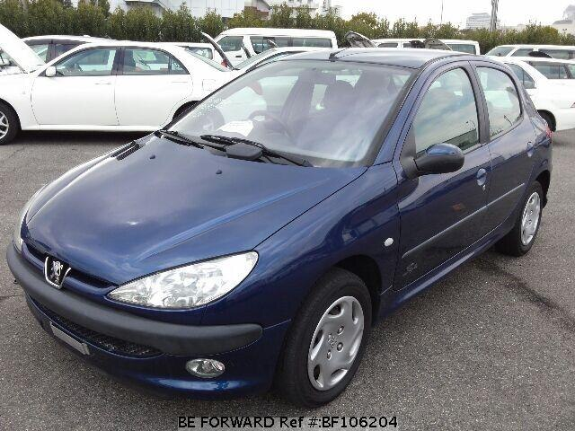 used 2003 peugeot 206 style/gh-t1kfw for sale bf106204 - be forward