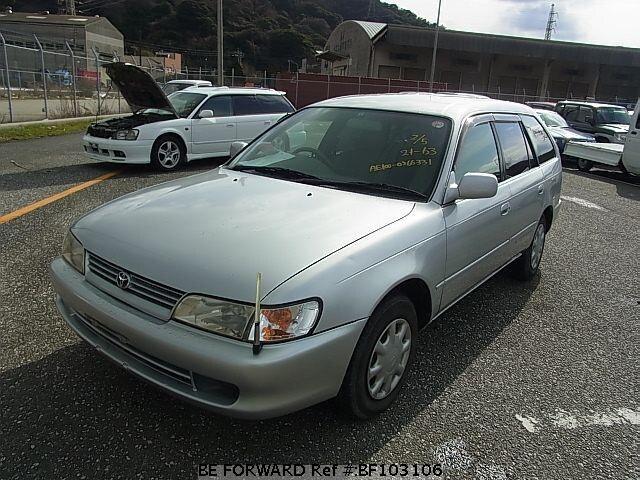 used 1998 toyota corolla touring wagon l touring limited gf ae100g rh beforward jp