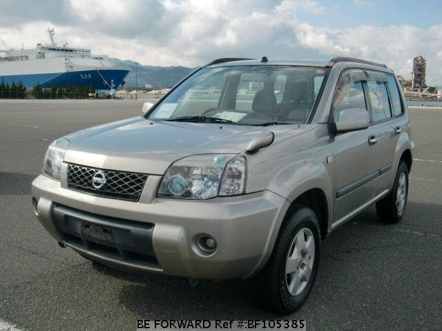 used 2004 nissan x trail s ua t30 for sale bf105385 be forward. Black Bedroom Furniture Sets. Home Design Ideas