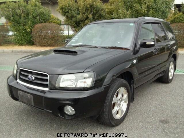 Used 2003 SUBARU FORESTER XT/TA-SG5 for Sale BF109971 - BE FORWARD