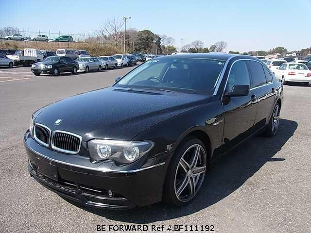 Used 2002 BMW 7 SERIES 745LI COMFORT PACKAGE/GH-GN44 for Sale ...