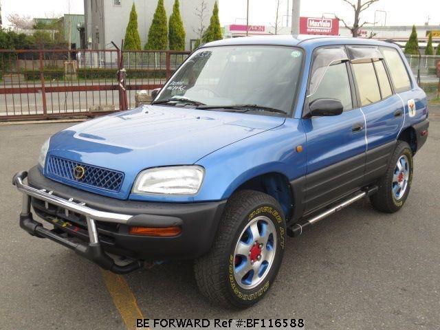 Used 1995 Toyota Rav4 L V  E-sxa11g For Sale Bf116588