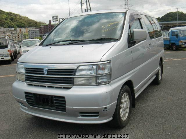 Used 1998 NISSAN ELGRAND V /KD-AVE50 for Sale BF121267 - BE FORWARD