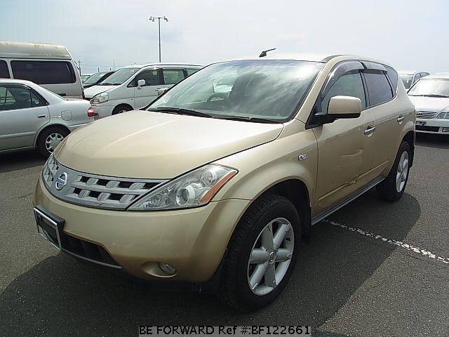 used 2005 nissan murano cba pz50 for sale bf122661 be forward. Black Bedroom Furniture Sets. Home Design Ideas