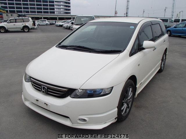 used 2005 honda odyssey absolute aba rb2 for sale bf124578 be forward. Black Bedroom Furniture Sets. Home Design Ideas
