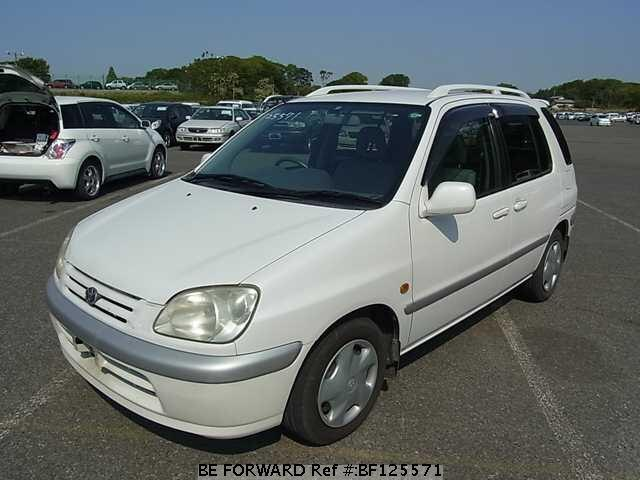 used 1999 toyota raum g package gf exz10 for sale bf125571 be forward rh beforward jp Toyota Raum 1999 Inside Toyota Raum 2007