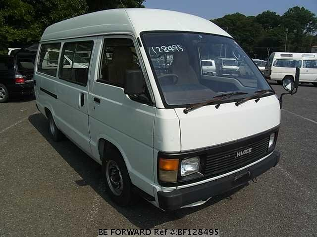 used 1989 toyota hiace van m yh61vh for sale bf128495 be forward. Black Bedroom Furniture Sets. Home Design Ideas