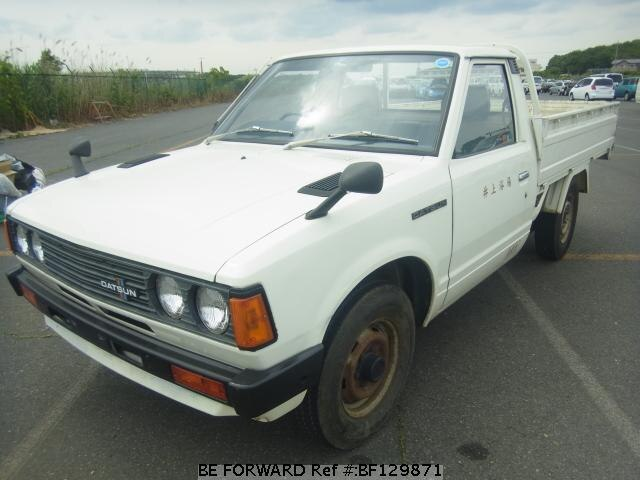 Used 1980 Nissan Datsun Truck Long Flat Deck J G720 For Sale