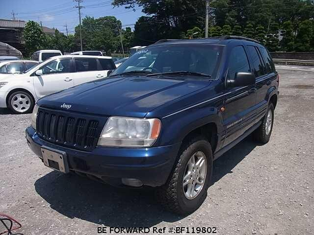 Used 2000 JEEP GRAND CHEROKEE LIMITED/GF-WJ40 for Sale BF119802 - BE