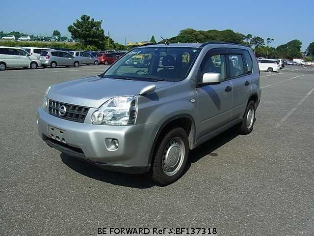used 2008 nissan x trail cba tnt31 for sale bf137318 be. Black Bedroom Furniture Sets. Home Design Ideas