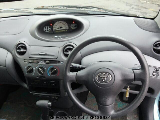 Used 2002 TOYOTA VITZ 1 0F/UA-SCP10 for Sale BF138934 - BE
