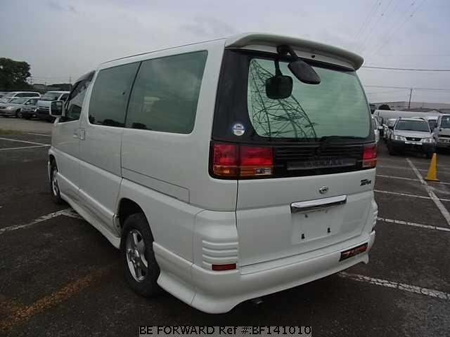 Used 1999 NISSAN ELGRAND HIGHWAY STAR/GF-ALE50 for Sale BF141010