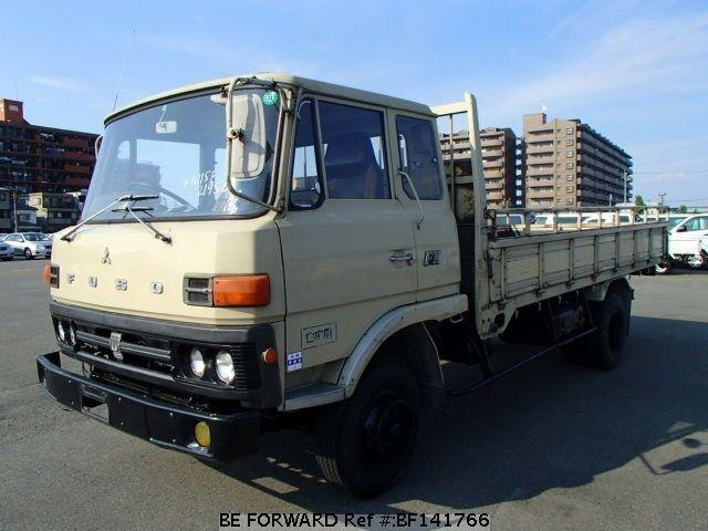 used a mitsubishi flatbody sale truck fuso fighter japan for span