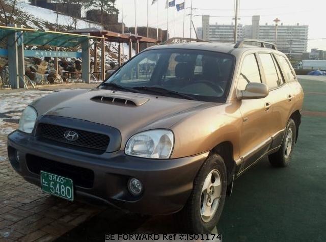 Used 2002 HYUNDAI SANTA FE for Sale IS01174 - BE FORWARD