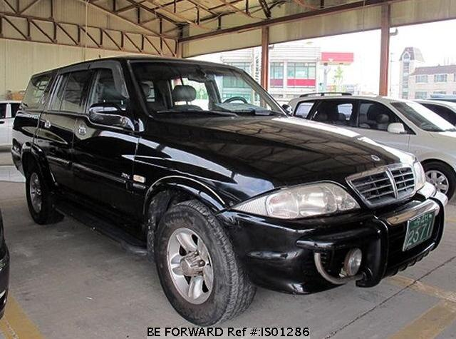 Used 2004 SSANGYONG MUSSO IS01286 for Sale