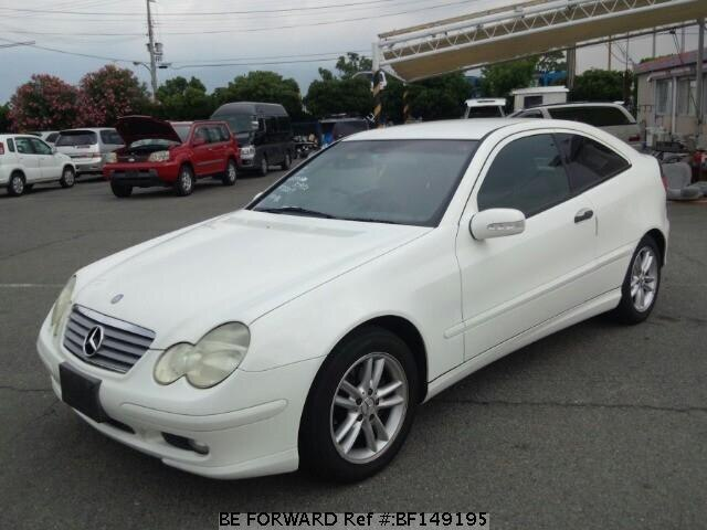 Used 2002 Mercedes Benz C Class C200 Kompressor Sport Coupe Gh