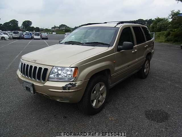 Used 2002 Jeep Grand Cherokee Gf Wj47 For Sale Bf150411 Be Forward