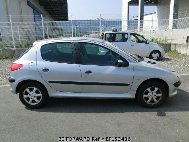 Used 2001 PEUGEOT 206/GF-T16XT for Sale BF152436 - BE FORWARD