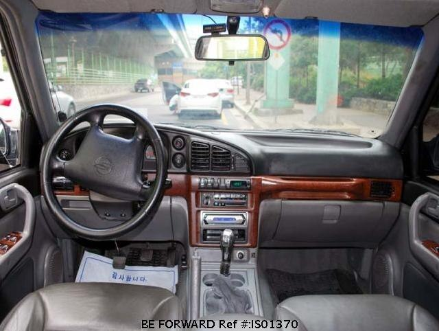 ... Used 2000 SSANGYONG MUSSO IS01370 for Sale Image ...