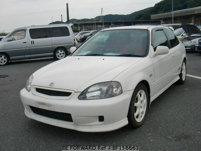 Used 1998 Honda Civic Type R Comfort P Gf Ek9 For Sale Bf156663 Be Forward
