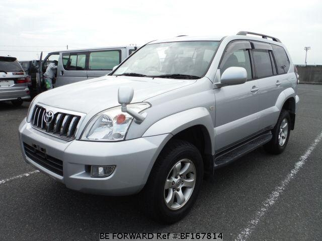 Used 2002 TOYOTA LAND CRUISER PRADO BF167814 for Sale