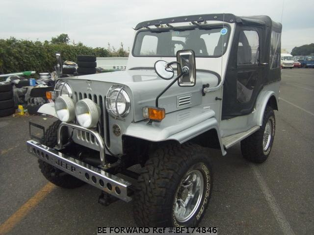 Used 1995 MITSUBISHI JEEP/KB-J55 for Sale BF174846 - BE FORWARD