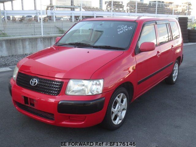 Used 2003 TOYOTA SUCCEED WAGON BF176146 for Sale