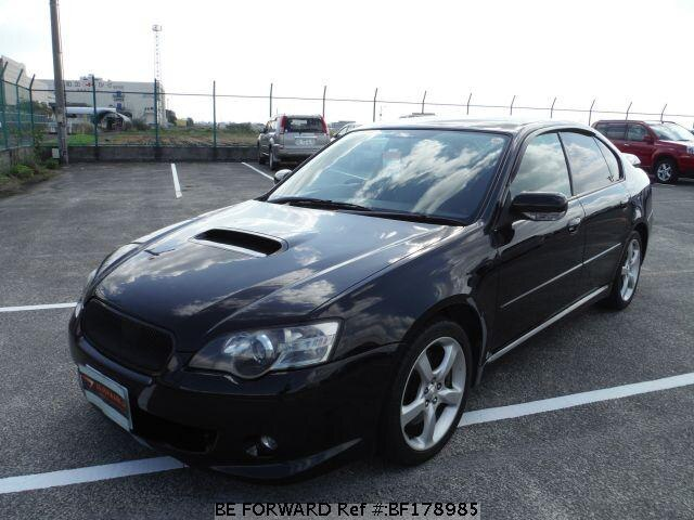 used 2003 subaru legacy b4 2 0gt spec b ta bl5 for sale bf178985 be forward. Black Bedroom Furniture Sets. Home Design Ideas