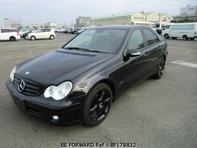 used 2005 mercedes benz c class c180 kompressor sports. Black Bedroom Furniture Sets. Home Design Ideas
