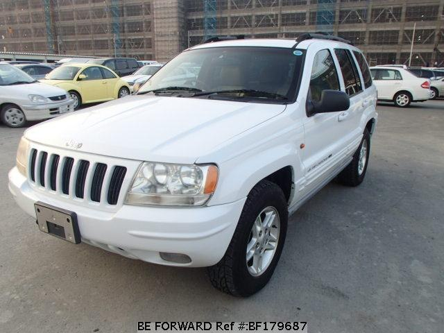 used 2000 jeep grand cherokee limited v8 gf wj47 for sale bf179687 be forward. Black Bedroom Furniture Sets. Home Design Ideas