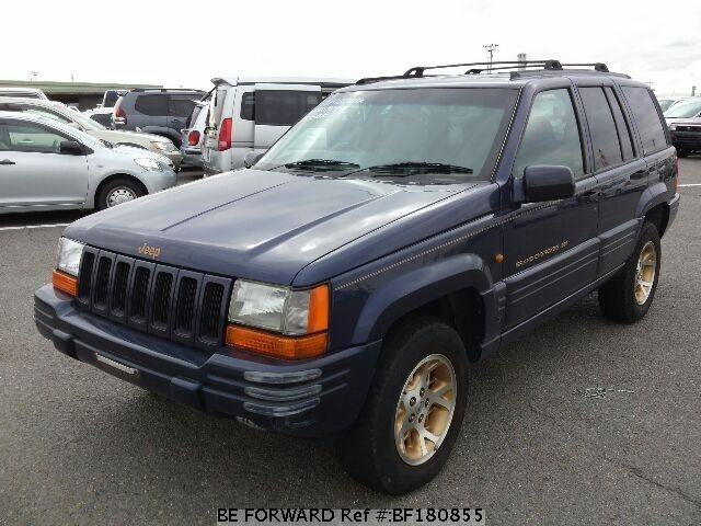 Cherokee Auto Auction >> Used 1998 JEEP GRAND CHEROKEE LIMITED/E-ZG40 for Sale BF180855 - BE FORWARD