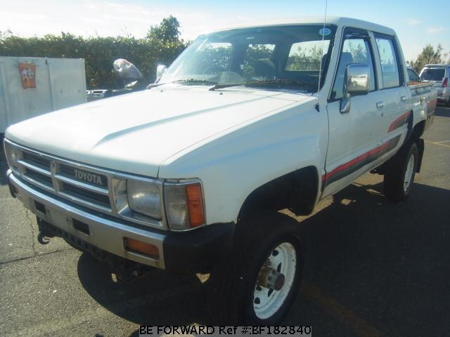 1987 toyota hilux w cab n ln65 d 39 occasion bf182840 be forward. Black Bedroom Furniture Sets. Home Design Ideas