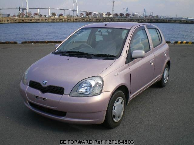 used 1999 toyota vitz f d package gf scp10 for sale bf184803 be forward. Black Bedroom Furniture Sets. Home Design Ideas
