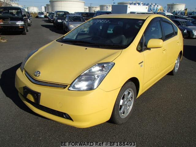 used 2007 toyota prius daa nhw20 for sale bf188493 be forward. Black Bedroom Furniture Sets. Home Design Ideas