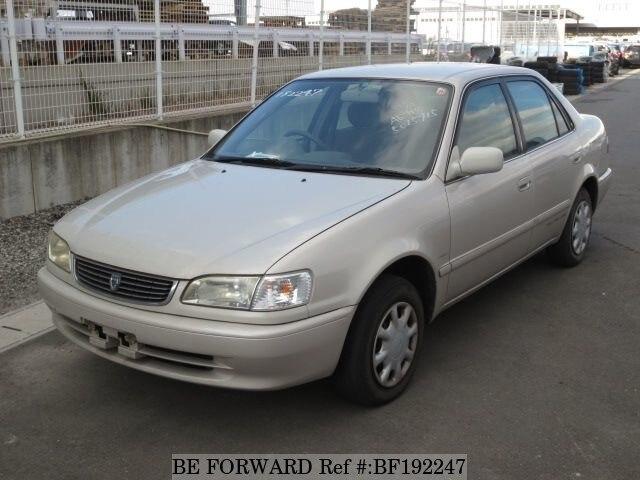 Used 1998 Toyota Corolla Sedan Xe Saloon E Ae114 For Sale Bf192247