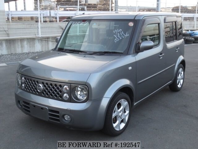 Used 2006 NISSAN CUBE 15M PREMIUM INTERIOR/DBA-YZ11 for Sale